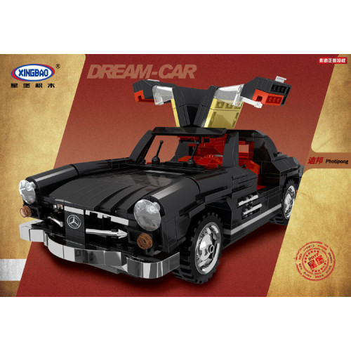 4583 pcs in Blocks Creative MOC Technic Series The Photpong Car Set Education Building Blocks Bricks Toys Model Gift