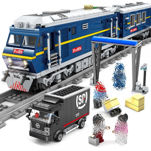 KAZI 98220 The Railway Cargo Train| Train