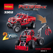 DECOOL 3362 Pickup Truck 2 in 1|TECH