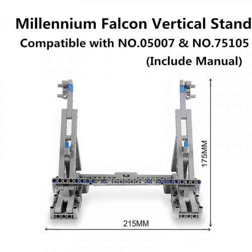 Millennium Falcon Vertikale Display Fur 05007 / 75105|MOC