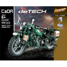 CADA C51022 Military Motorcycle|TECH