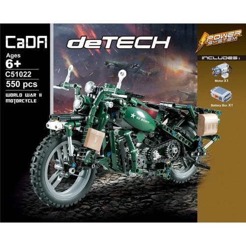 CADA C51022 Military Motorcycle|TECH