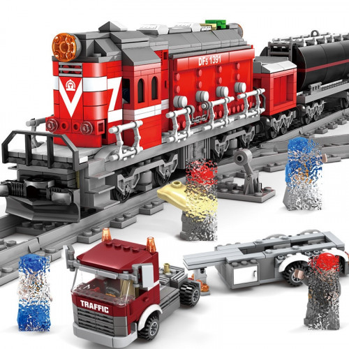 KAZI 98219 The Cargo Train| Train
