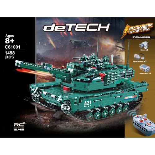 CADA C61001 M1A2 RC Tank 2 In 1|TECH