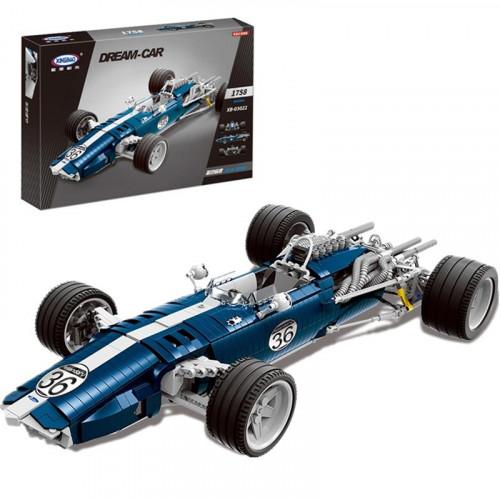 XB03022 THE Blue Racing CAR | CREATOR |