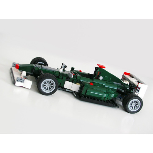 The F1 Racer In Green | MOC