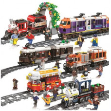 Winner 5085-5091 The Steam/Cargo Train| Train