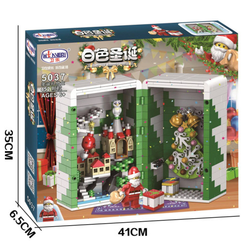 Winner 5037 Winter Christmas Gift Box Santa Claus| CREATOR|