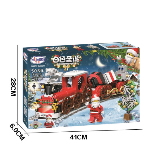 Winner 5036 Winter Christmas Gift Train Santa Claus| CREATOR|