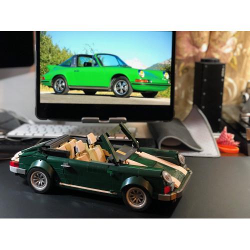 Green/White Porsche 911 Targa | MOC