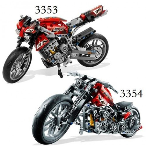 DECOOL 3353/3354 MOTORBIKE MOTORCYCLE |TECHNICS|