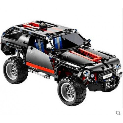 DECOOL 3340/3341 TRANSPORT CRUISER SUV RACING CAR LC200|TECHNIC|