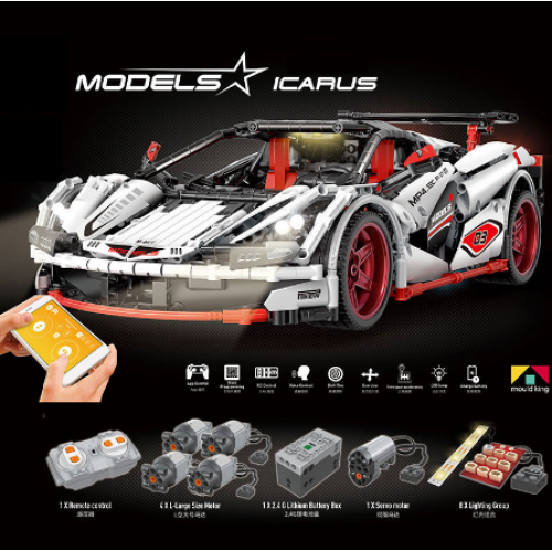 MOULD KING 13067 ICARUS Supercar | MOC