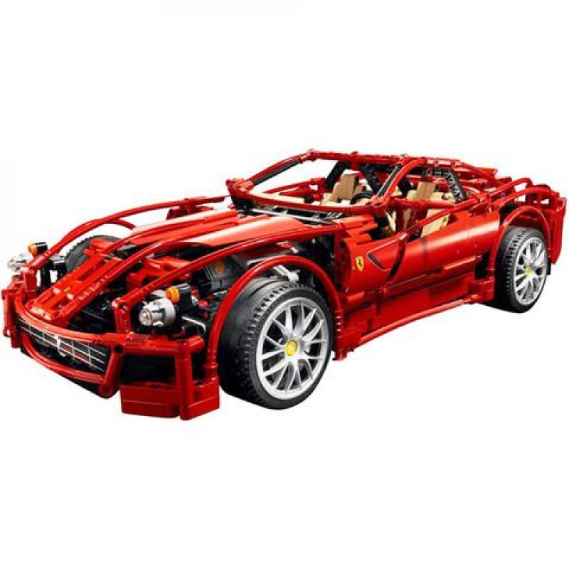 Ferrari 599 Gtb Fiorano: DECOOL 3333 RACERS FERRARI 599 GTB FIORANO