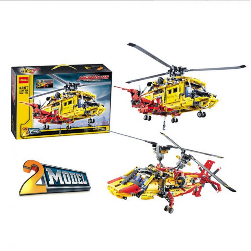 DECOOL 3357  Rescue Helicopter|TECH|