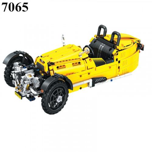 Winner 7065 Yellow Tricycle | TECHINC|