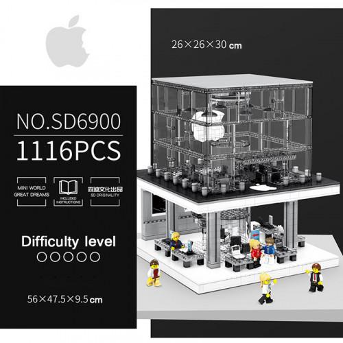 Sembo SD6900 Apple store - USB lighting Building |Modular