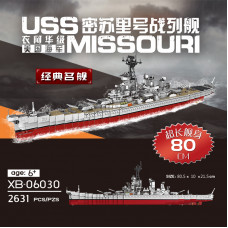 Xingbao 06030 The Missouri Battleship  | ACG|