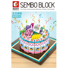 Sembo 601400 The Birthday Cake | Creator