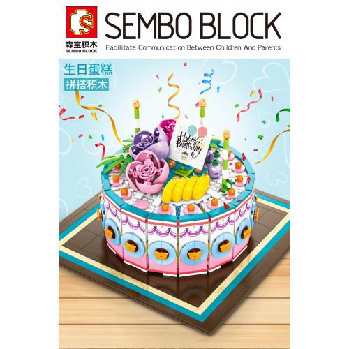 Sembo 601400 The Birthday Cake | Creator