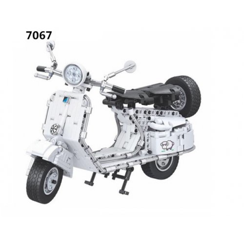 Winner 7067 Pedal Motorcycle | TECHINC|