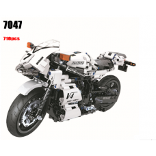 Winner 7047 White Racing motorcycle | TECHINC|