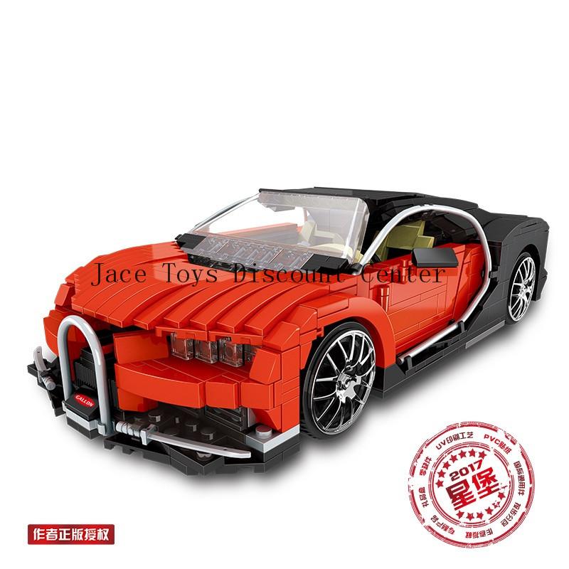 825Pcs Creative MOC serias The Photpong Car Set Children Education Building Bloc
