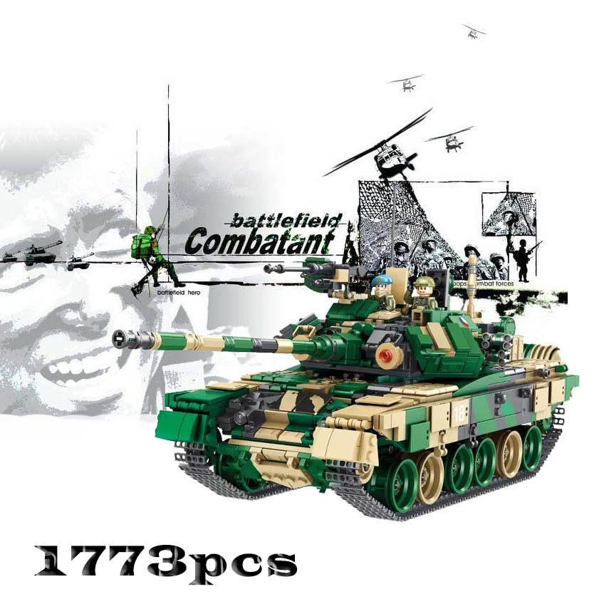 632005-1773pcs-Military-Russia-T-90-Main-Battle-Tank-Ww2-Army-Forces-Building-Block-Toys-for-children-gift-32947665767