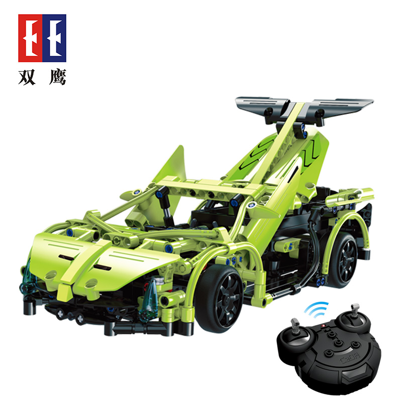 C51007-453pcs-Technic-Series-RC-Remote-Control-Sportscar-Racing-Car-Building-Block-Brick-Legoings-Toy-32868462665